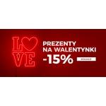 Dstreet: 15% rabatu na prezenty Walentynkowe