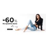 Dstreet: do 60% rabatu na damskie spodnie jeansowe