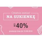 DaWanda: do 40% rabatu na sukienki
