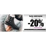 Deichmann: 20% zniżki na buty skórzane 5th Avenue