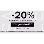 Deichmann: 20% zniżki na buty nieprzecenione