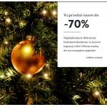 Dekoracja Domu: wyprzedaż do 70% rabatu na dekoracje bożonarodzeniowe