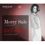 Deni Cler: Merry Sale do 35% rabatu