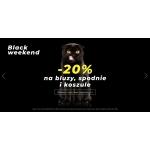 Black Weekend Denley: 20% rabatu na bluzy, spodnie i koszule
