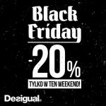 Black Friday w Desigual: do 30% zniżki