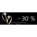 Diamor: 30% zniżki na pierścionki zaręczynowe