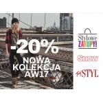 Diverse: weekend zniżek 20% zniżki na nową kolekcję AW17