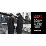 Diverse: 25% rabatu na koszule, bluzy, spodnie i akcesoria zimowe