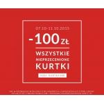 Diverse: rabat 100 zł na kurtki