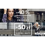 Zniżki: 40% na drugi produkt, 50 zł na kurtki i buty w Diverse