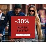 Diverse: 30% zniżki na swetry i kurtki
