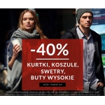 Diverse: 40% zniżki na kurtki, koszule, swetry, wysokie buty