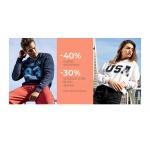 Diverse: 40% rabatu na kurtki wiosenne, 30% zniżki na koszule long, bluzy, jeansy