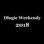 Długie Weekendy w 2018 roku