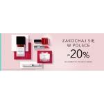 Douglas: 20% rabatu na kosmetyki polskich marek
