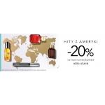 Douglas: 20% zniżki na kosmetyki marek amerykańskich przy zakupach za min. 199zł