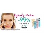 Douglas: 99% rabatu na trzeci kosmetyk Douglas Essential lub Douglas Focus