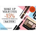 Douglas: 15% zniżki na kosmetyki do makijażu