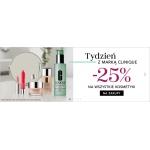 Douglas: 25% zniżki na wszystkie kosmetyki marki Clinique