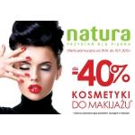 Drogeria Natura: do 40% rabatu na kosmetyki do makijażu