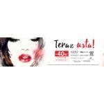 Drogerie Natura: 40% zniżki na kosmetyki do makijażu ust