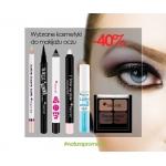 Drogerie Natura: 40% zniżki na wybrane kosmetyki do makijażu oczu do MySecret
