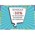 Drogerie Natura: 30% rabatu na wszystkie kosmetyki do makijażu Sensique