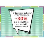 Drogerie Natura: 30% zniżki na wszystkie kosmetyki Pierre Rene