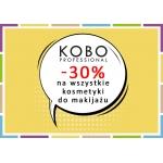 Drogerie Natura: 30% rabatu na wszystkie kosmetyki do makijażu marki Kobo Professional