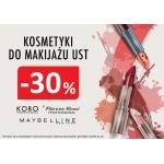 Drogerie Natura: 30% zniżki na kosmetyki do makijażu ust