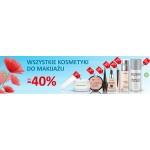 Drogerie Natura: do 40% rabatu na wszystkie kosmetyki do makijażu