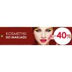 Drogerie Natura: 40% zniżki na kosmetyki do makijażu