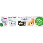 Drogerie Natura: 35% rabatu na kosmetyki do pielęgnacji twarzy marki Soraya