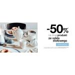 Duka: 50% zniżki na drugi produkt ze szkła stołowego