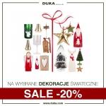 Duka: 20% zniżki na wybrane dekoracje świąteczne