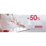 Duka: 50% zniżki na drugi produkt ze szkła