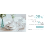 Duka: 25% rabatu na porcelanę Felicia & Time
