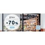 Duka: wietrzenie magazynów do 70% rabatu na produkty w kategorii Sale