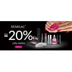 Ezebra: 20% zniżki na kosmetyki do paznokci marki Semilac