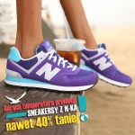 Eastend.pl: sneakersy New Balance do 40% taniej