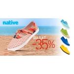 Eastend: 35% rabatu na kolekcję obuwia Native