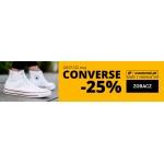 Eastend: 25% zniżki na obuwie marki Converse