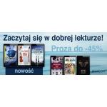 Ebookpoint: do 45% zniżki na książki z kategorii Proza