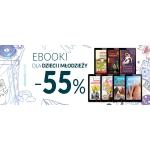 Ebookpoint: 55% zniżki na ebooki dla dzieci i młodzieży