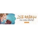 Egmont: 25% rabatu na całą ofertę księgarni internetowej