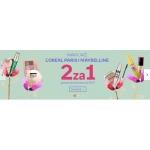 Empik: 2 kosmetyki do makijażu L'Oreal Paris i Maybelline w cenie 1