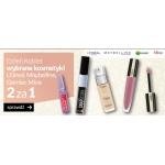 Empik: z okazji Dnia Kobiet dwa wybrane kosmetyki L'Oreal, Maybelline, Garnier, Mixa w cenie jednego
