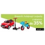 Empik: do 35% zniżki na rowerki, hulajnogi i pojazdy