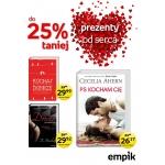 Empik: do 25% zniżki na Walentynki