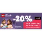 Empik: promocja na Dzień Kobiet 20% zniżki na klocki Lego Friends